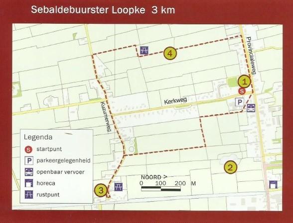 Vrijdag 17 mei 2019 organiseren we een wandeling over het vernieuwde Sebaldebuurster Loopke.
